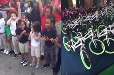 Teacher Raises Funds To Buy Bicycles For 650 Low-Income Students [Watch]