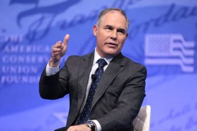 Scientists Fire Back At EPA's Scott Pruitt With Research Disproving Claims