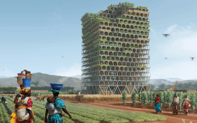 The Revolutionary Skyscraper Is Designed To Feed A Village