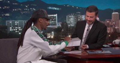 Snoop Dogg Surprises Jimmy Kimmel With Huge Donation To Children's Hospital