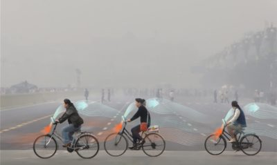 These Bicycles Suck Smog And Clean Air While You Ride Them