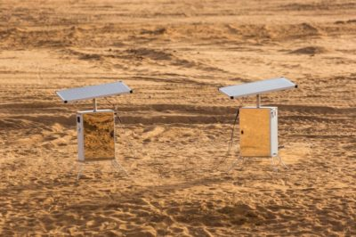 Revolutionary Desert Twins Can Produce Water Out Of Thin Air