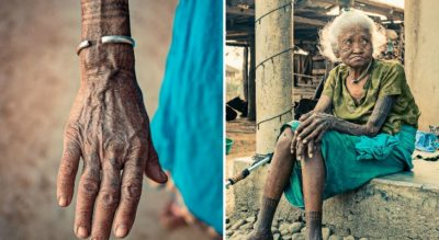 15 Remarkable Photos Of The Last Tattooed Women Of The Tharu Tribe