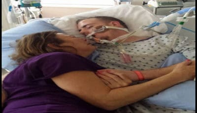 Tearful Mom Crawls Into Hospital Bed With 22-Year-Old Son. Shares Painful Truth About What Killed Him