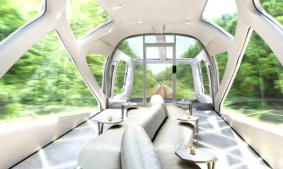 You Won't Believe The Interior Of Japan's New Luxury Passenger Train