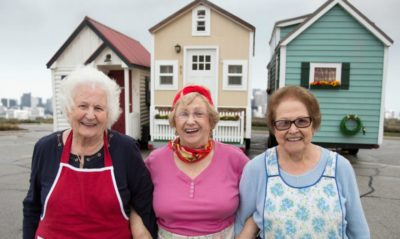 New Trend: Seniors Are Buying Tiny Homes To Live Off-Grid In Their Golden Years