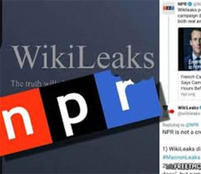 WikiLeaks Catches NPR Spreading Fake News, Destroys Them On Twitter