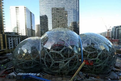 Amazon's Downtown Seattle 'Spheres' To Be Urban Oasis For Employees