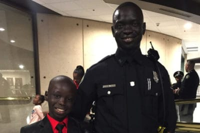 Former 'Lost Boy' Immigrant From Sudan Is Now A Cop Living The American Dream