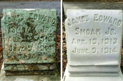 Man Cleans Veterans' Headstones On His One Day Off, Here Are The Beautiful Results