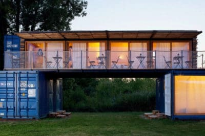 This Portable Hotel Made From Shipping Containers Could Show Up Anywhere