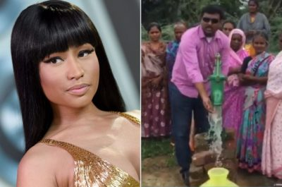 Nikki Minaj Quietly Donated To An Indian Village For Years, And Now It's Transformed
