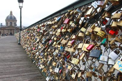 Parisian Padlocks Of Love Were Auctioned Off, Raised $369K For Refugees