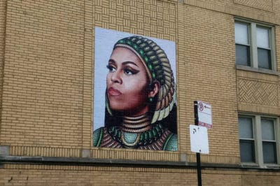 This Michelle Obama Mural Started A Controversy — But The Reason Is Legitimate