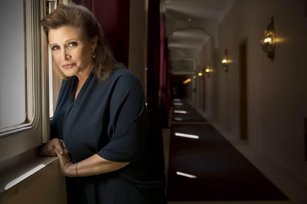 https://commons.wikimedia.org/wiki/File:Actress_Carrie_Fisher_%C2%A9_Riccardo_Ghilardi_photographer.jpg