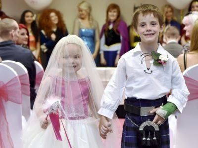 Terminally Ill 5-Year-Old Marries Best Friend In 'Dream Wedding'