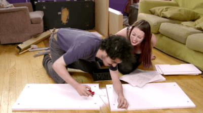This Couple Took Acid And Tried To Build IKEA Furniture. Watch What Ensued…