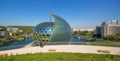 The Photovoltaic Solar Sail On The New Seine Musicale Is A Work Of Art