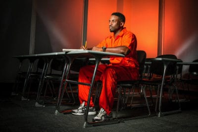 Wrongfully Incarcerated Student Artist Made This Bold Statement For His Last Project