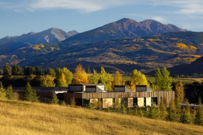 Solar-Powered Aspen Primary School Is A Wilderness Dream