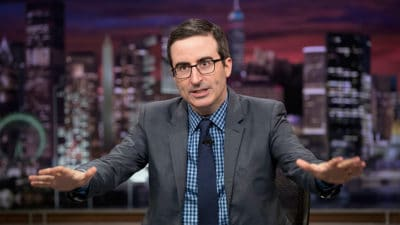 John Oliver Exposes The Right-Wing Media Empire Taking Over Local News