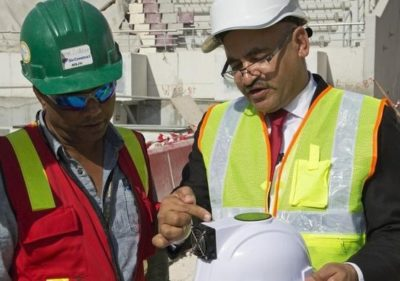 Solar-Powered Invention Protects World Cup Workers From Harsh Qatar Sun