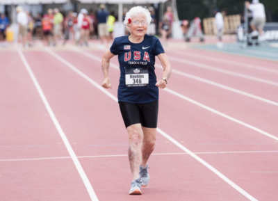 This Inspiring 101-Year-Old Just Broke The World Running Record