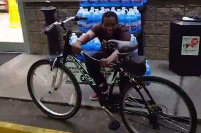 Customer Buys Bike For Father Of Three Who Walks Four Hours To Work Everyday