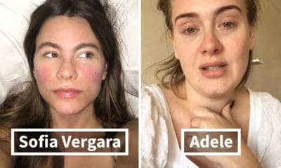 These 20+ Images Of Celebrities Without Makeup Prove They Look Just Like Us