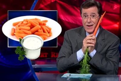 Stephen Colbert Announces He's Going Vegan On The Late Show [Video]