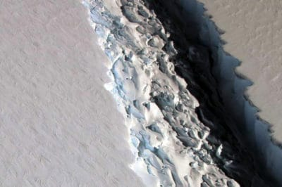 Breaking: Trillion Ton Iceberg Just Broke Off From Antarctica, Is Now Adrift