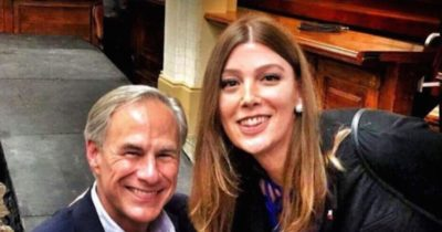 Trans Woman Takes Photo With Texas Governor To Protest New Bathroom Bill