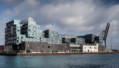 This Dutch School Is Covered With 120,000 Sea Green Solar Panels