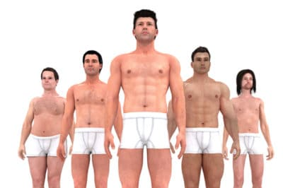 Take A Look At How Male Body Ideals Have Changed Over 150 Years