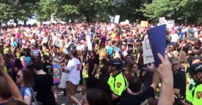 Alt-Right Rally Shut Down As Up To 30,000 People Swarm Boston