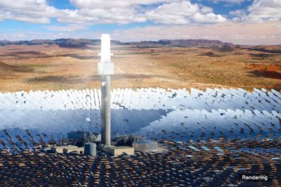 World's Biggest Single-Tower Solar Thermal Energy Farm Is Under Construction In South Australia