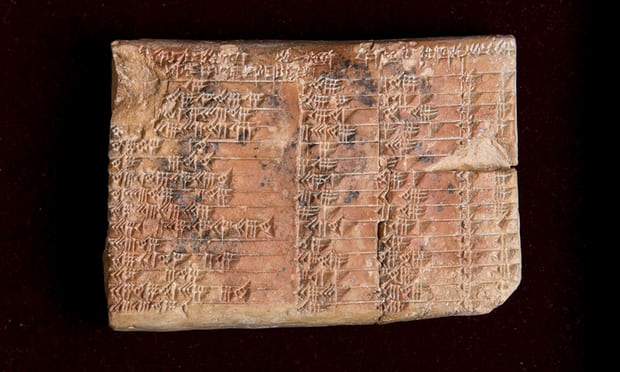 https://www.theguardian.com/science/2017/aug/24/mathematical-secrets-of-ancient-tablet-unlocked-after-nearly-a-century-of-study