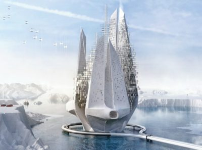 Floating Skyscraper Concept Purifies The Air And Reverses Climate Change