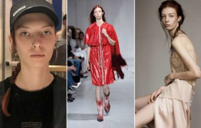 This Woman Went From Washing Dishes To Walking At NY Fashion Week In Just 12 Days