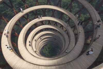 Awe-Inspiring Walkway In Denmark Puts Every Other Tree Walkways To Shame