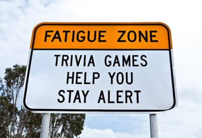 Australia Is Using Trivia Signs To Keep Drivers Awake, And They're Hilarious