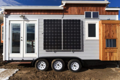 Student-Made Sustainable Tiny House Represents New American Dream