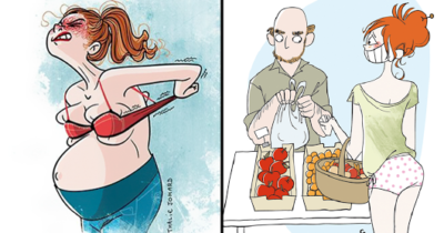 Mom Shares The Honest Reality Of Having Kids In 25 Brilliant Illustrations