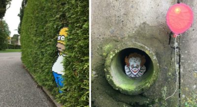 Someone Is 'Vandalizing' Streets With Pixel Art, And The Internet Can't Get Enough [10+ Photos]
