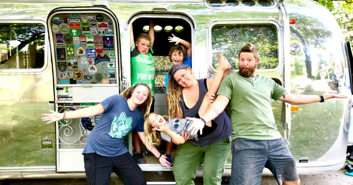 Couple Swaps Dream Home In Exchange For Something Better: A Trailer And The Priceless Opportunity To Travel Around America In It With Their Kids